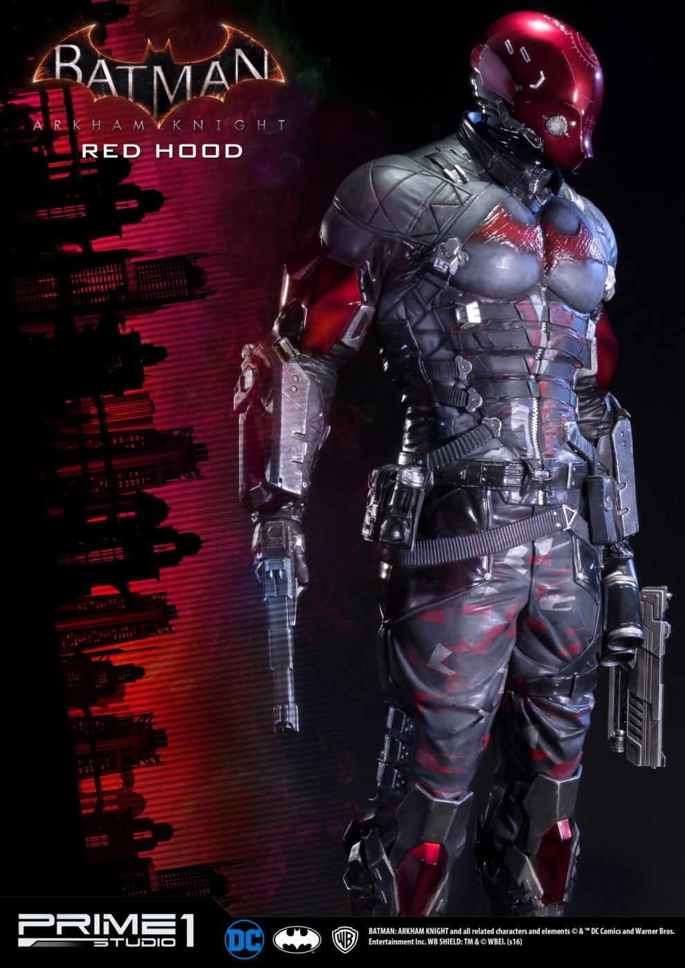 Museum Masterline Batman: Arkham Knight Red Hood