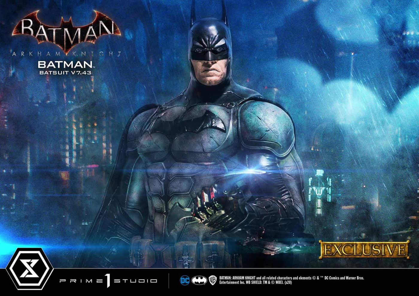 Museum Masterline Batman: Arkham Knight Batman Batsuit V7.43 EX Version