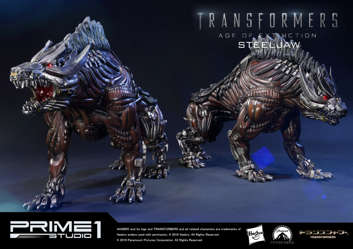 Museum Masterline Transformers: Age of Extinction Steeljaw