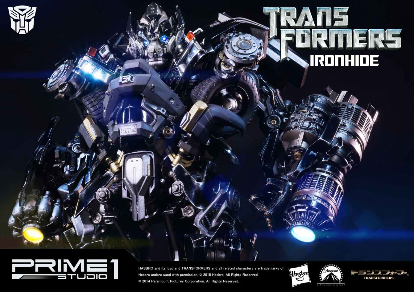 Museum Masterline Transformers Ironhide