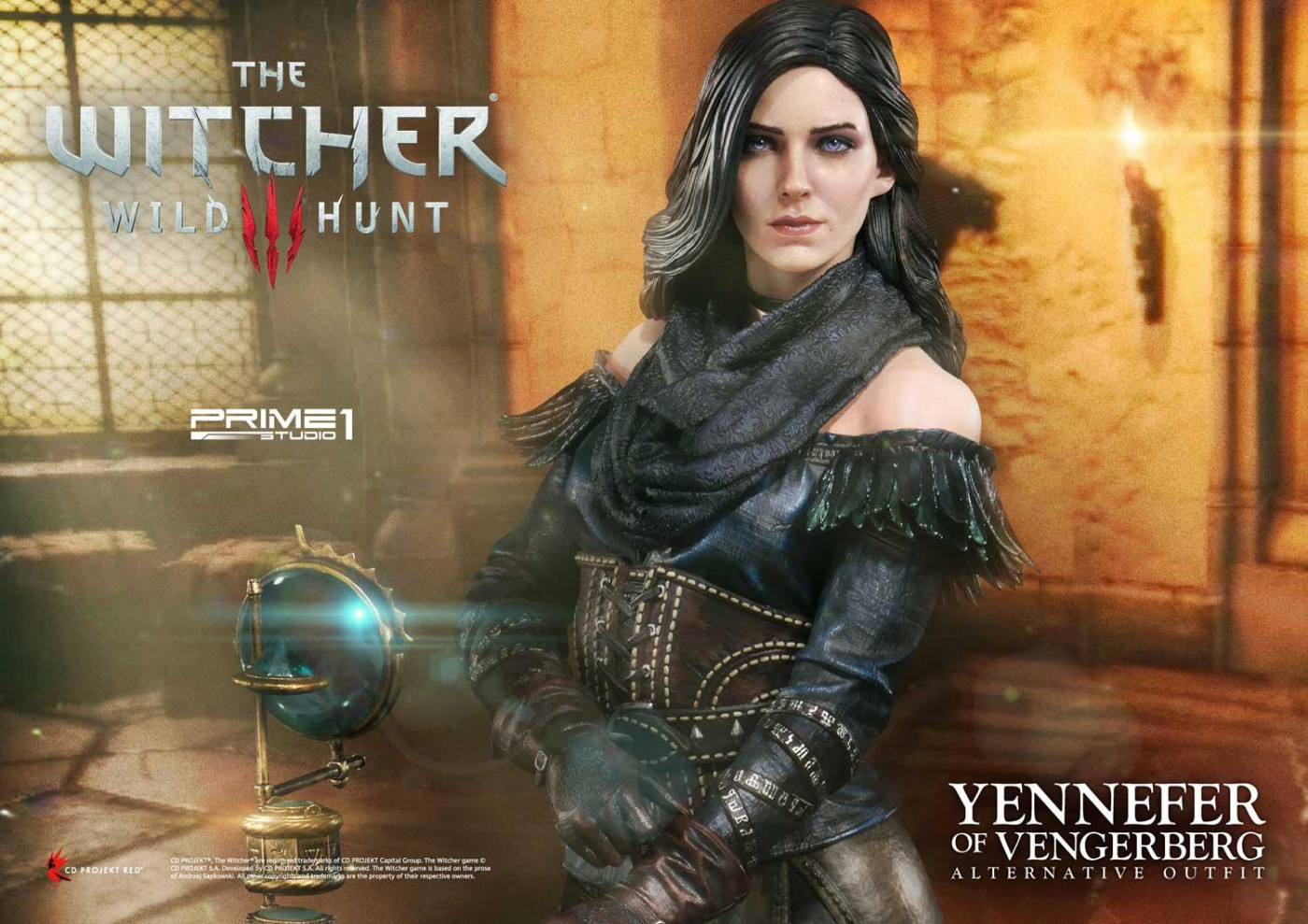 Premium Masterline The Witcher 3 Wild Hunt Yennefer Of Vengerberg Alternative Outfit By Prime 1 Studio