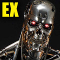 High Definition Museum Masterline The Terminator (Film) T-800 Endoskeleton EX Version