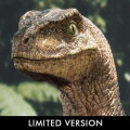 Legacy Museum Collection Jurassic Park (Film) Velociraptor 1/6 scale Closed mouth Bonus Version