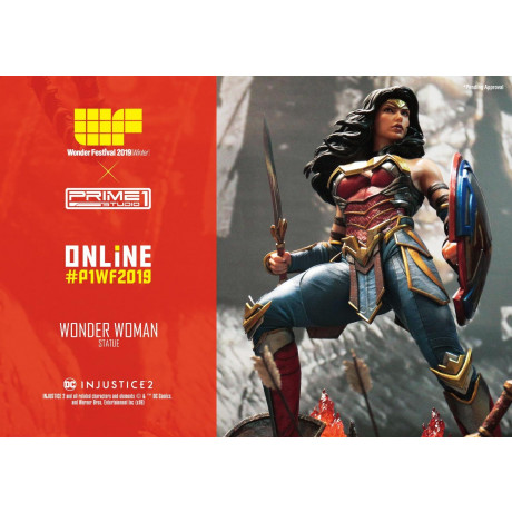 Premium Masterline Injustice 2 Wonder Woman
