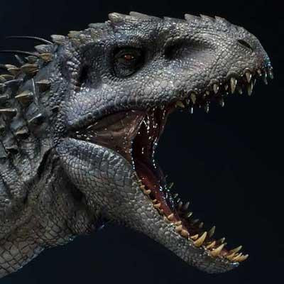 Legacy Museum Collection Jurassic World (Film) Indominus Rex 1/15 scale Bonus Version