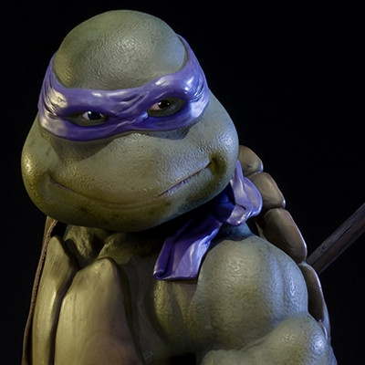Museum Masterline Teenage Mutant Ninja Turtles 1990 Donatello