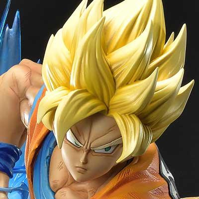 Mega Premium Masterline Dragon Ball Z Super Saiyan Son Goku
