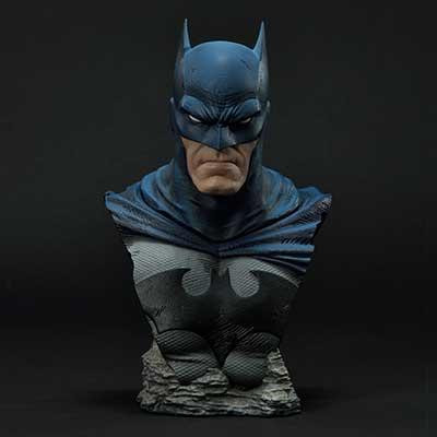 Premium Bust Batman: Hush (Comics) Batman Batcave Version