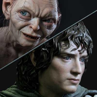 Premium Masterline The Lord of the Rings: The Return of the King (Film) Frodo & Gollum Bonus Version