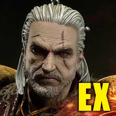 Premium Masterline The Witcher 3: Wild Hunt Geralt of Rivia Skellige Undvik Armor EX Version
