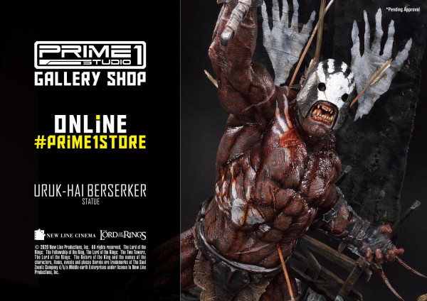 Premium Masterline The Lord of the Rings (Film) Uruk-Hai