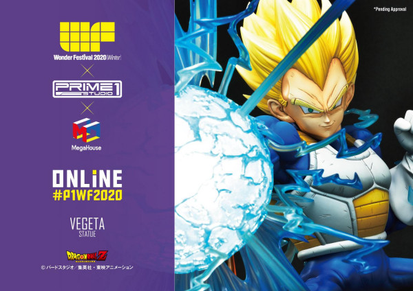Mega Premium Masterline Dragon Ball Z Super Saiyan Vegeta
