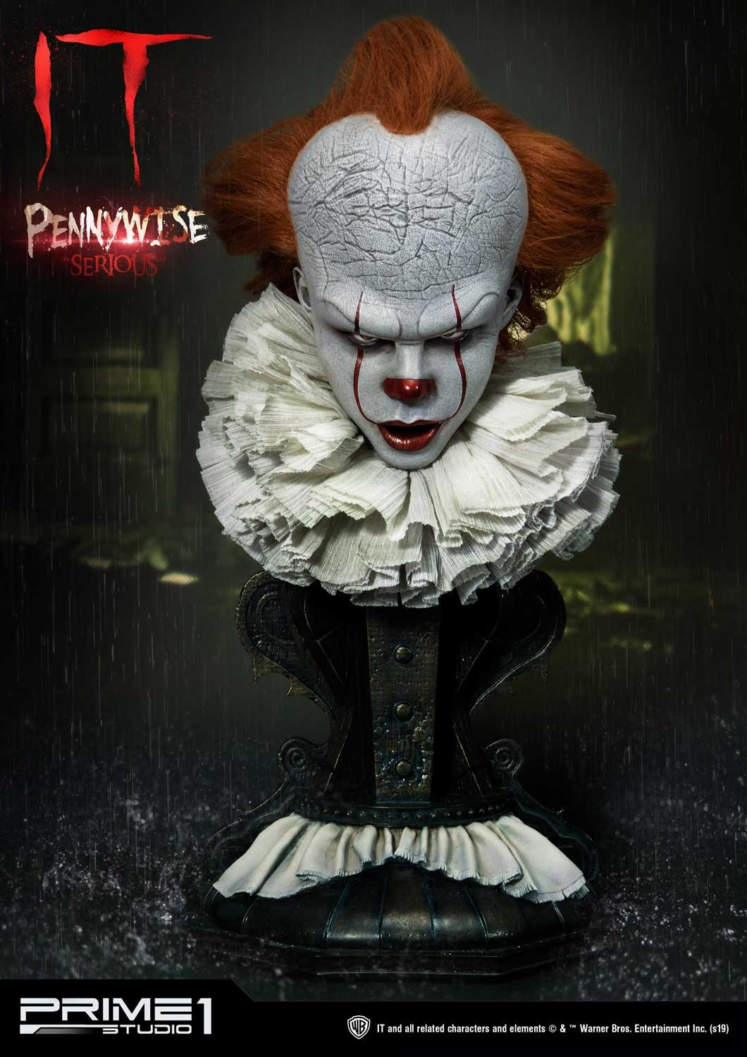 High Definition Bust IT (Film) Pennywise Serious By Prime ...