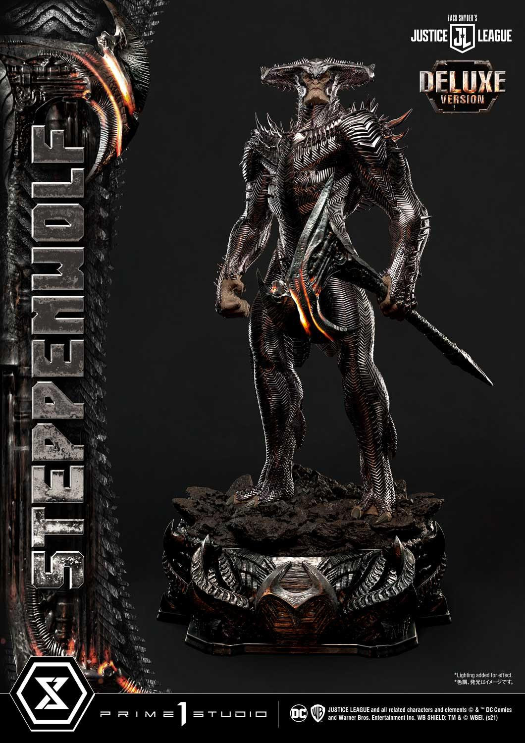Zack Snyder's Justice League – Steppenwolf 1/3 Scale Statue Mmjl-09dx_a10